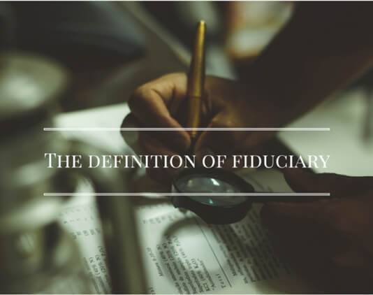 Fiduciary for Dummies
